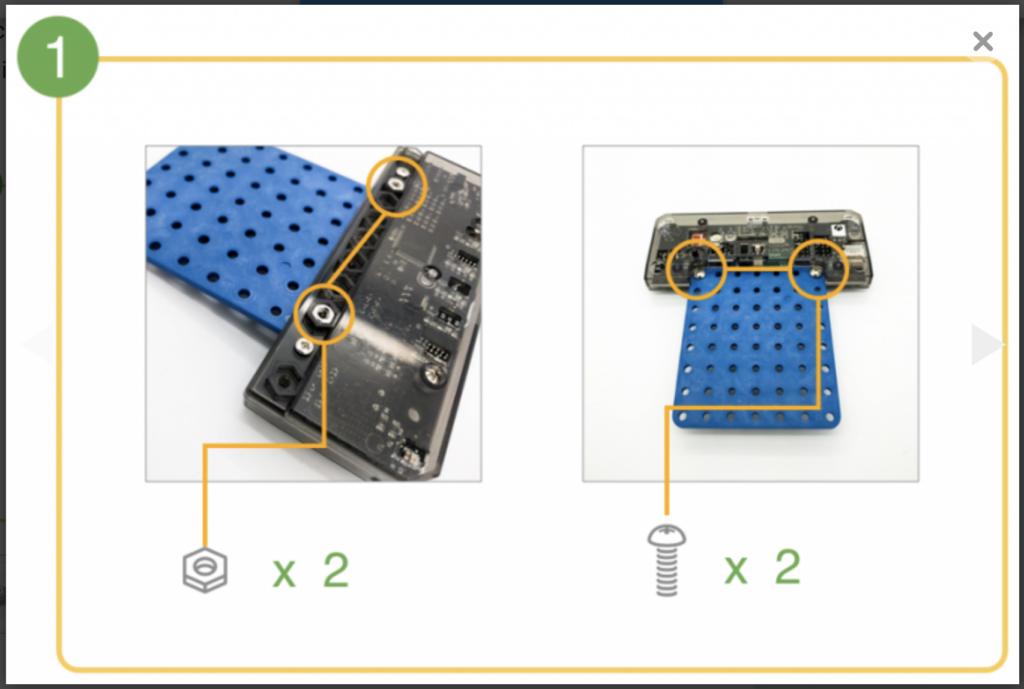 CoDrone Pro remote build step 1