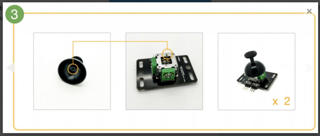 CoDrone Pro remote control build step 3