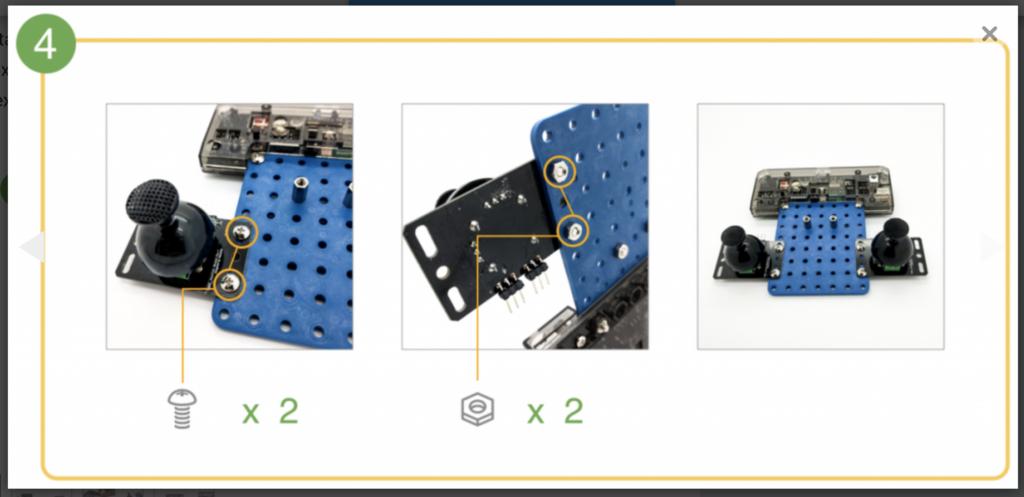 CoDrone remote control build step 4