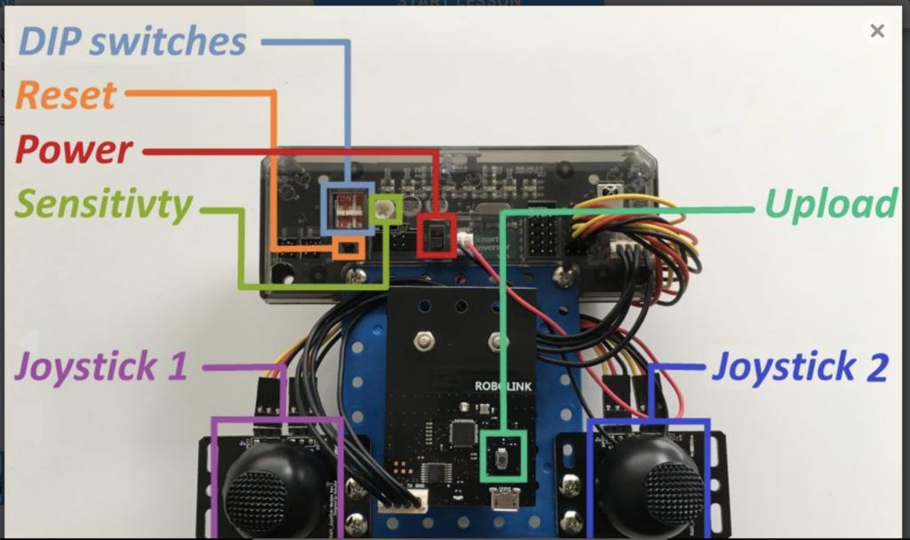 CoDrone remote control build step 11