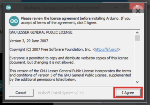Arduino license agreement