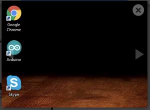 Arduino desktop shortcut