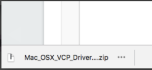 Mac OSX VCP Driver zip download