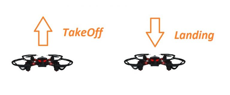 CoDrone takeoff and landing
