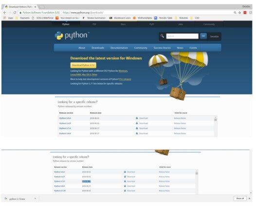 CD with Python - installing Python2