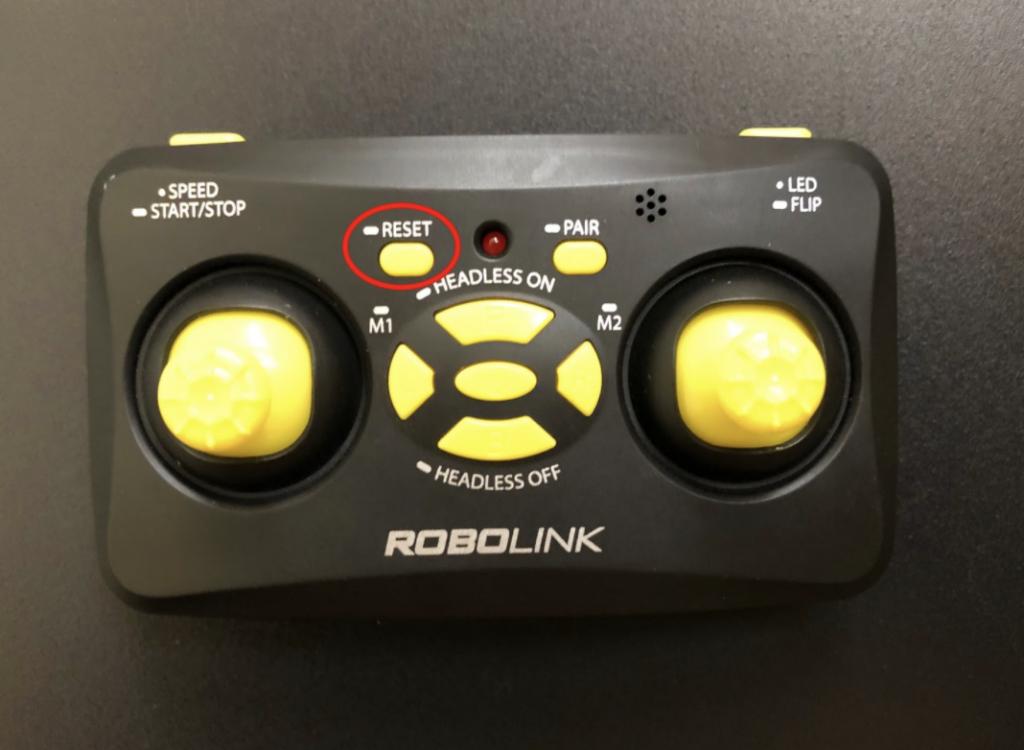 CoDrone Mini remote reset