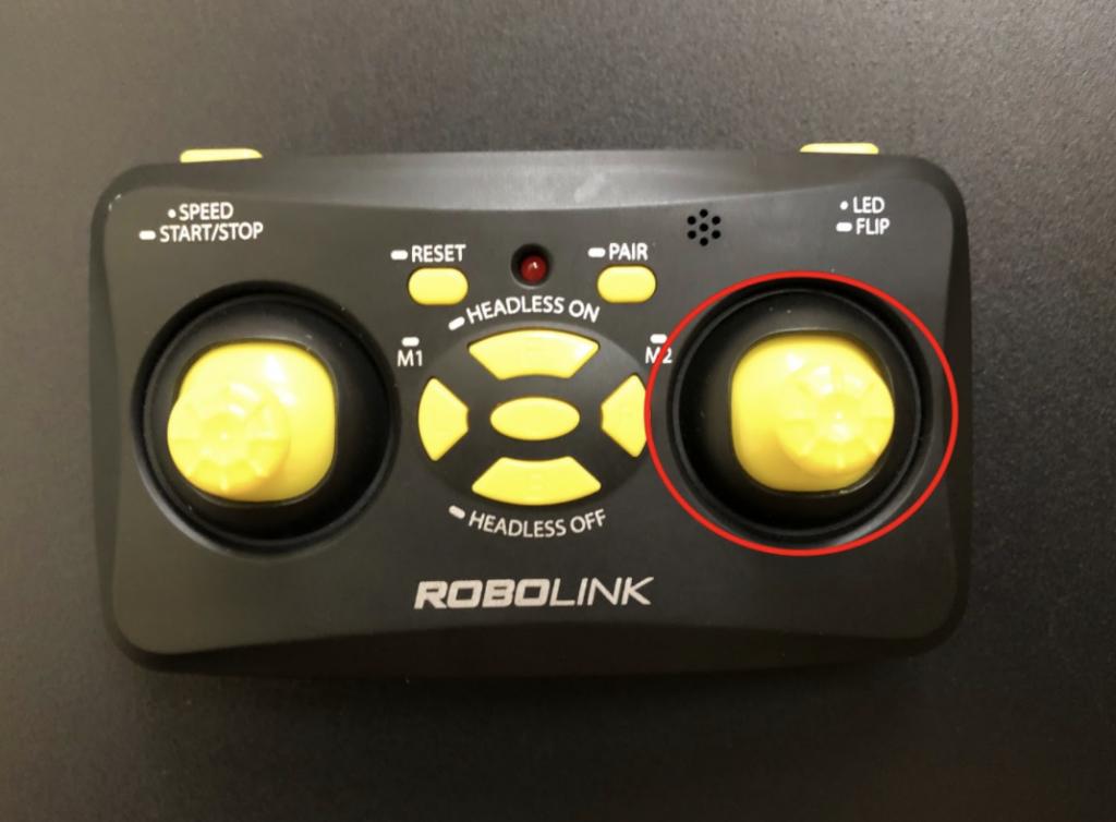 CoDrone Mini remote right joystick