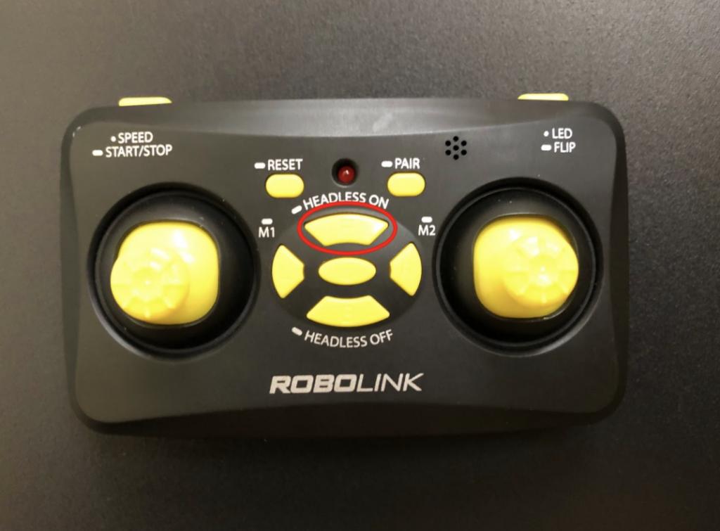 CoDrone Mini remote F button