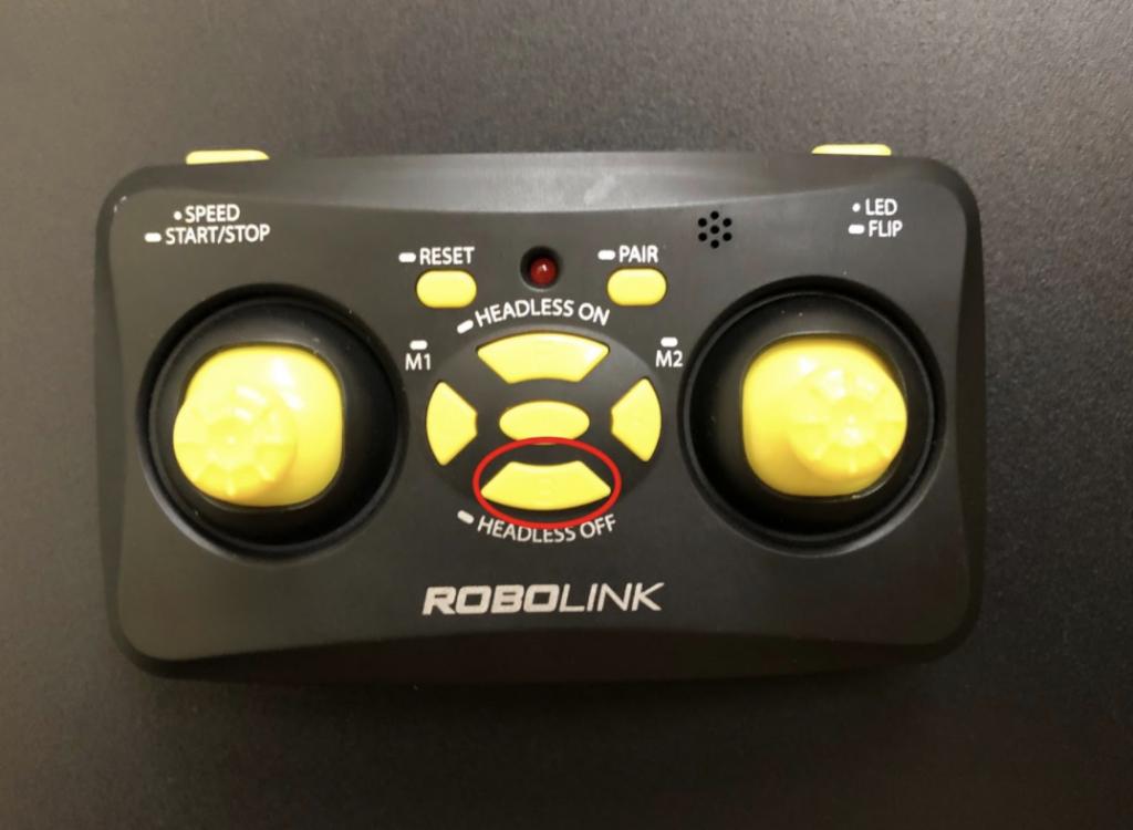 CoDrone Mini remote B button
