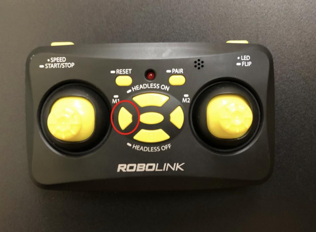 CoDrone Mini remote L button